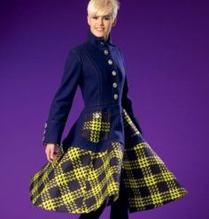 7025 McCalls Schnittmuster Kleid