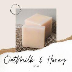 Oatmilk & Honey Bar Soap - 4.5oz