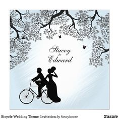 Bicycle Wedding Them