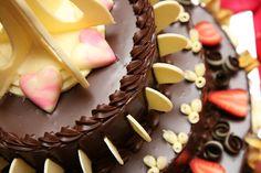 Chocolate Wedding Cake by otaru23.deviantart.com on @deviantART