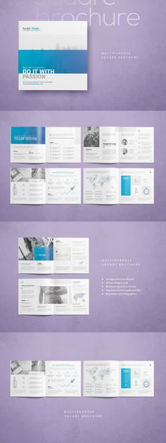 Professional \ Clean Brand Manual Template InDesign INDD - 56 - how to manual template