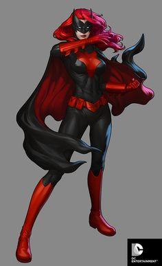 DC Comics Cover Girls - Batwoman by Artgerm.deviantart.com on @deviantART