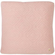Quilt cushion 45 x 45 cm, rose, by Ferm Living.
