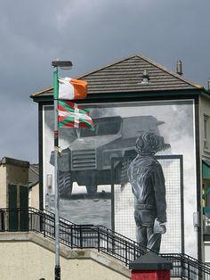 Mural - Derry, Northern Ireland