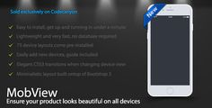 MobView - Lightweight Multi-Device Viewer #Device, #DeviceView, #Fluid, #Galaxy, #Iphone, #LiamGordon, #Lightweight, #Responsive, #S6, #S7, #Samsung, #Tablet, #View http://goo.gl/NfJRbI