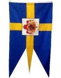 Ruffin Flag Company Sweden Royal Flag Swedish Royalty Banner Pennant New Foot Swedish Royalty, Flag Decor, Garden Flags, Outdoor Gardens, Sweden, Banners, Outdoor Decor, Banner