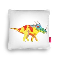 Triceratops Cushion at Ohh Deer:
