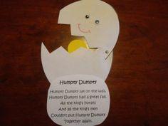 Humpty Dumpty Nursery Rhyme Craft