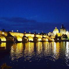 Charles Bridge in Prague. #travel #prague