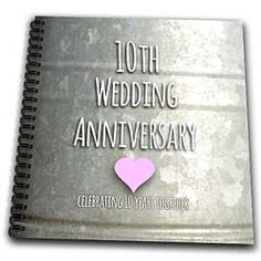 Occasions - 10th Wedding Anniversary gift - Tin celebrating 10 years ...