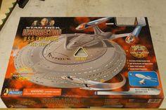 Enterprise E from Star Trek Insurrection with Captain's yacht. Star Trek Voyager, Star Trek Enterprise, Star Trek Insurrection, Star Trek Action Figures, Uss Enterprise Ncc 1701, Star Trek Collectibles, Firefly Serenity, Stargate Atlantis, Some Text