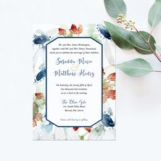 Hmm I typically don't like watercolor invitations but this one is ok. Maybe a little thinner of a watercolor border