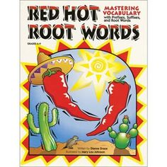 Red hot root words for my vocabulary study with my middle school students