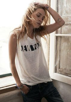 Erin Wasson for Madewell SS Campaign 2014