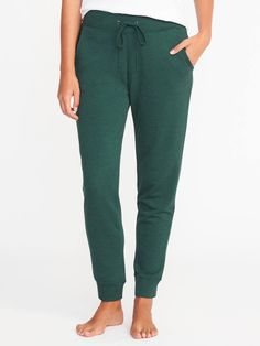French-Terry Lounge Joggers for Women ~ Old Navy. Medium. Green or Black