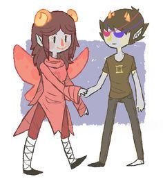 Aradia and Sollux