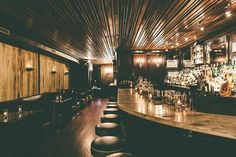 Seriously influential bar that created or rediscovered a lot of drinks now considered modern classics - Final Ward, Oaxaca Old Fashioned, Coffey Park Swizzle, Strange Brew et al -  thanks to the 'Mr Potato Head method'.  Seriously...#cocktails #newyork #bars