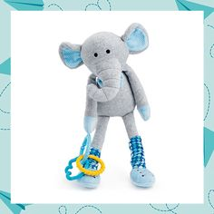 DESCRIPTION  Oh, baby! Scentsy Sidekicks were designed with loads of features wee ones crave, like crinkly legs, teething rings and darling knee socks that move up and down. Scented with Newborn Nursery.  https://lindamosley.scentsy.us/shop/p/38459/eddy-the-elephant-scentsy-sidekick