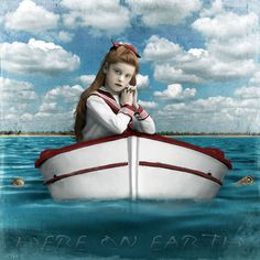 """man cannot discover new oceans unless he has the courage to lose sight of the shore."" -andre gide art by Beth Conklin"