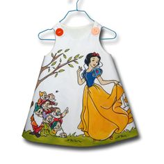 Snow White and The Dwarfs Toddler Dress by maredeleau on Etsy, $75.00