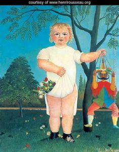 To Celebrate The Baby - Henri Julien  Rousseau
