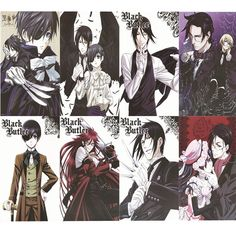 Camplayco Black Butler Ciel Phantomhive Posters Placard Cosplay (a set of 8) * Want additional info? Click on the image.