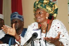 The Nigeria first female presidential candidate, was Special Adviser to former President Goodluck Jonathan on Ethics and Values.