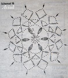 Crochet Stars, Crochet Snowflakes, Crochet Mandala, Thread Crochet, Filet Crochet, Crochet Doilies, Crochet Lace, Crochet Christmas Decorations, Crochet Ornaments
