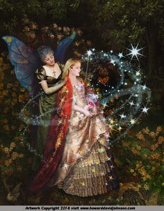 *+*Mystickal Faerie Folke*+*...The Fairy Paintings Art Gallery:The Celtic Faerie Art of Artist Howard David Johnson...