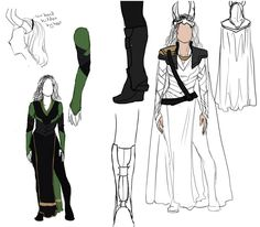 Lady Loki design by Distorted-Eye. I'm making this one.