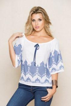 Blusa Shoulder, Blouse, Virginia, Women, Fashion, Dress Shops, Dressmaking, Moda, Women's