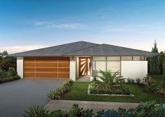 Ausbuild Home Designs: Cuba Metro Facade. Visit www.localbuilders.com.au/builders_queensland.htm to find your ideal home design in Queensland