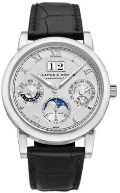 A. Lange & Sohne Langematik 310.025 Platinum 38.5mm Mens Watch