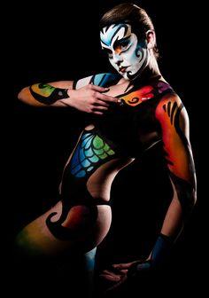 Cirque de Soleil private boudoir photo shoot for Dorian. Top dollar paid, VIP seat, of course.