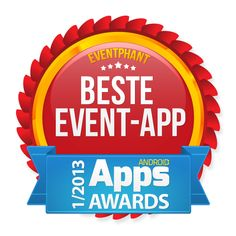 """we are the winner in category """"best event app"""" in the Android Mag Event App, Burger King Logo, Android Apps"""