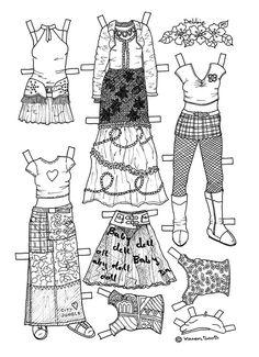 Karen`s Paper Dolls: Debbie