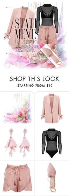 """Untitled #61"" by fadilabanjic on Polyvore featuring Miss Selfridge, Oscar de la Renta, Boohoo and Summit"