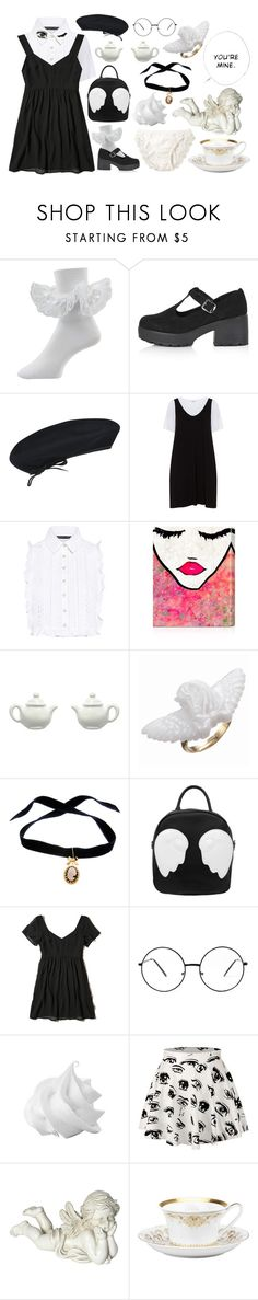 """You are a special doll"" by kittyprincessf ❤ liked on Polyvore featuring Topshop, kangol, Zizzi, Marissa Webb, Oliver Gal Artist Co., Irregular Choice, Bisou Bijoux Ariela, Hollister Co., WithChic and Pacific Coast"