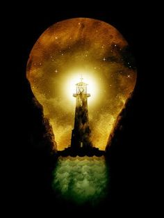 When you feel lost, look for the lighthouse in your Soul.   @Shannon Bellanca Kennedy  @Becky Hui Chan Sykes @Christy Polek Sykes
