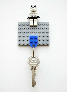 The 'DIY LEGO Key Holder' is a Star Wars Lover's Dream #mostamazinggadgets #techgadgets trendhunter.com