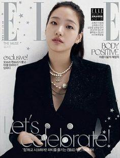 Kim Go-eun - Elle Magazine Cover [South Korea] (December Korean Women, Korean Girl, Asian Girl, Korea Fashion, Big Fashion, Kim Go Eun Style, Elle Style Awards, Fashion Magazine Cover, Magazine Covers