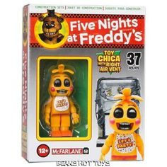 Five Nights At Freddy's CHICA RIGHT AIR VENT Micro McFarlane Building Set 37 pc #McFarlane