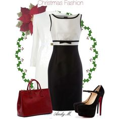 """""""Christmas Fashion"""" by andym8 on Polyvore"""
