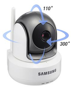 Samsung BrightVIEW HD Video Baby Monitor - The Samsung BrightVIEW Monitor has great functions like 'Audio Mode' and 'VOX Mode,' these features make sure your monitor will only turn on when it detects noise and helps with extending your battery life. www.tinywise.me