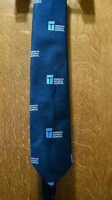 Toronto General Hospital Necktie Tie Rare Vintage