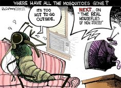 Where have all the mosquitoes gone? #funny #joke