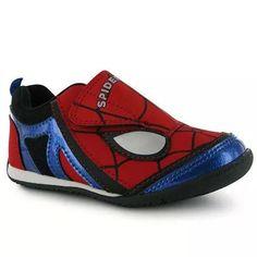 Spiderman Sneakers / Sapatilhas homem aranha   Stopping Point Roupa