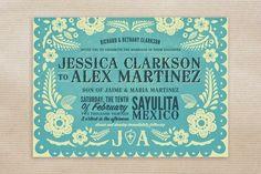 Invitacion boda mexicana