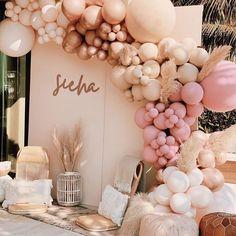 Balloon Garland, Balloon Arch, Balloon Decorations, Birthday Decorations, Baby Shower Decorations, Ballon Backdrop, Balloon Columns, Photo Booth Backdrop, Pink Balloons