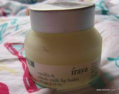 Iraya Vanilla & Whole Milk Lip Balm